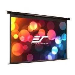 ES ELITE SCREENS Spectrum Series ELECTRIC84H 186x105cm, elektrické roletové plátno závěsné úhlopříčka 84 palců, 16:9, černé pouz