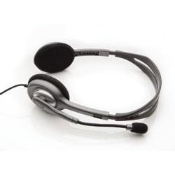 LOGITECH sluchátka H110, náhlavní sada Stereo Headset H110