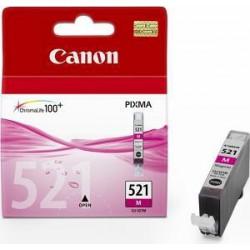 CANON CLI-521M originální náplň purpurová (pro MP540/550/560/620/630/980/iP3600/4600)