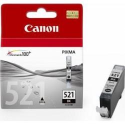 CANON CLI-521BK originální náplň fotočerná (pro MP540/550/560/620/630/980/iP3600/4600, photo black)