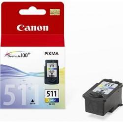 CANON CL-511 originální náplň barevná (CL511) pro MP240, MP260, MP270, IP2700 malá (CL511)
