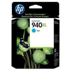 HP C4907AE originální náplň azurová č.940XL Officejet cyan velká (Officejet Pro 8000/8500)