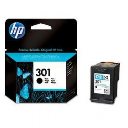 HP CH561EE originální náplň černá č.301 black (190stran, pro Deskjet 1050, 1510, 2050, 2514, OJ2620)
