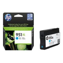HP CN046AE originální náplň azurová č.951XL velká (cca 1500 stran, cyan, pro OJ 8100, 8600)