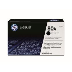 HP CF280A originální černý toner č.80A malý 2700str. (pro LJ PRO 400, M401, black)