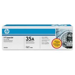 HP CB435A originální toner černý č.35A cca 1500str. (pro LJ P1005, P1006)