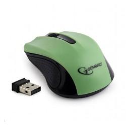 Gembird bezdrátová optická myš MUSW-101, zelená