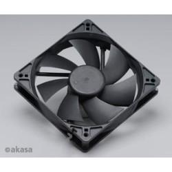 ventilátor Akasa - 12 cm - černý - tichý B