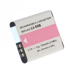 Doerr akumulátor OLYMPUS LI-50B, PENTAX D-Li92, Ricoh DB-100, 700mAh