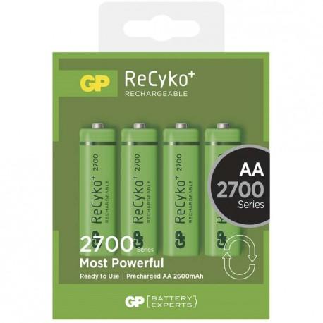 Nabíjecí baterie GP AA 2700 NiMH 4ks