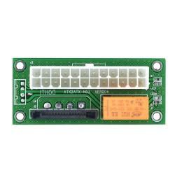 ANPIX ovládání druhého PC zdroje přes SATA (adaptér pro sepnutí jednoho podřízeného zdroje) (pro těžbu kryptoměny, mining)