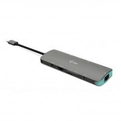 i-tec USB-C Metal Nano Docking Station 4K HDMI LAN + Power Delivery 100W