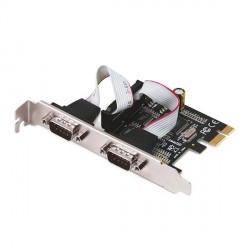 i-tec PCI-Express karta 2x Serial RS232, vč. low profile rámečku