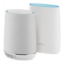 NETGEAR Orbi Mesh WiFi System with Orbi Voice Smart Speaker & WiFi Satellite, RBK50V
