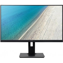 """27"""" LCD Acer B277U - IPS,WQHD,4ms,75Hz,350cd/m2, 100M:1,16:9,HDMI,DP,VGA,USB,repro.pivot,výška."""
