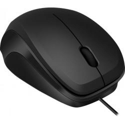 LEDGY Mouse - USB, Silent, black-black