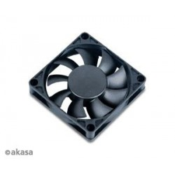 ventilátor Akasa - 7 cm - tepelné čidlo - 3-pin