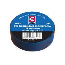 PremiumCord Izolační páska PVC 15/10 modrá