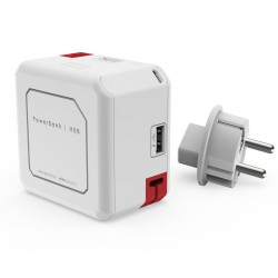 Zásuvka PowerCube PowerUSB Portable 5000mAh, White