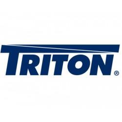 Dveře celoplechové pro 12U nástěnný Triton rack