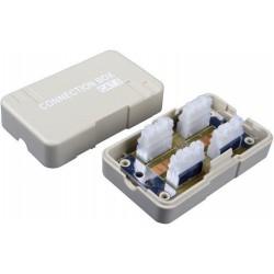 Spojovací box CAT6 UTP 8p8c LSA+/Krone