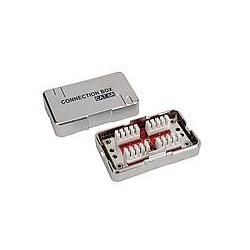 Spojovací box CAT6A STP 8p8c LSA+/Krone