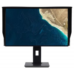 "27"" LCD Acer ProDesigner PE270K - IPS,4K,4ms,350cd/m2, 100M:1,16:9,HDMI,DP,USB-C,USB,repro.výška"