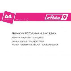 ALDA9 Fotopapír A4 180 g/m2, prem. lesklý, 50listů
