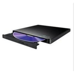 HLDS (HITACHI-LG) DVD±RW GP57EB SLIM external černá USB 2.0, 8xDVD±RW, 5xDVD-RAM, black, slim černá