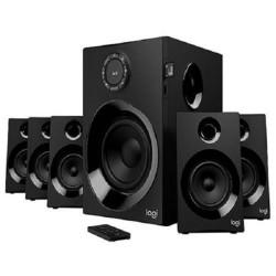 LOGITECH repro Z607 5.1 Surround Sound Speaker System with Bluetooth, Black