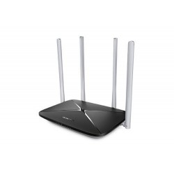 Mercusys AC12G 1200Mbps dual band gigabit router, 4xRJ45, 4xhigh gain anténa