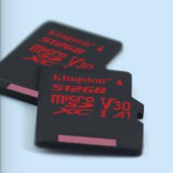 512GB microSDXC Kingston U3 100R/80W bez adapt.