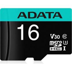 ADATA MicroSDHC 16GB U3 V30S 95MB/s + adapter