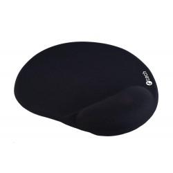 Podložka pod myš gelová C-TECH MPG-03, černá, 240x220mm