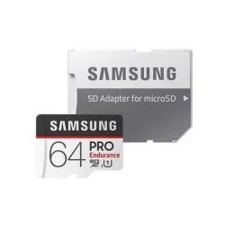 SAMSUNG micro SD card SDHC 64GB PRO Endurance class10 UHS-I U1 (+ 1x adapter microSD na SD)