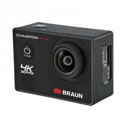 Braun CHAMPION 4K III sportovní minikamera (4k/30fps, 16MP, WiFi, pouzdro do 30m)