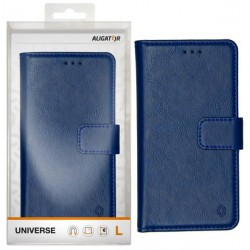 ALIGATOR pouzdro UNIVERSE, vel.L(150*72)kr. modrá