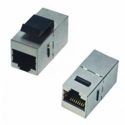 DATACOM Spojka panel STP 2 x RJ45 (8p8c) Cat5e,přímá,plast
