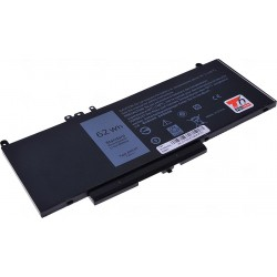 Baterie T6 power Dell Latitude E5270, E5470, E5570, Precision 15 3510, 8100mAh, 62Wh, 4cell, Li-pol