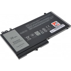 Baterie T6 power Dell Latitude E5450, E5550, E5250, 3150, 3160, 3420mAh, 38Wh, 3cell, Li-pol