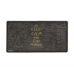 Maxi podložka pod myš Natec Maths, 40x80cm