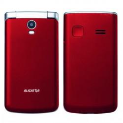 ALIGATOR V710 Senior červeno-stříbrný+st.nab.