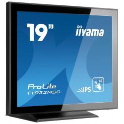 "19"" iiyama T1932MSC-B5X - IPS, FullHD, 14ms, 250cd/m2, VGA, HDMI, DP,"