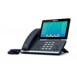 "Yealink SIP-T57W, IP tel. PoE, 7"" bar. LCD, 29 prog. tl. GigE, BT, WiFi"