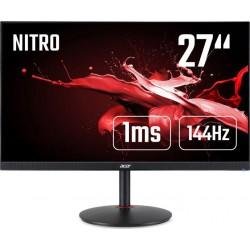 """27"""" Acer Nitro XV272UP - IPS, 2560x1440@144Hz, 1ms, 350cd/m2, 16:9, HDMI, DP, USB, výška, pivot, FS"""