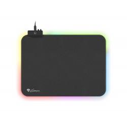 Herní podložka pod myš s RGB podvícením Genesis Boron 500 M, 350x250mm