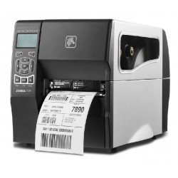 DT Printer ZT230  203 dpi, Euro and UK cord, Serial, USB, Int 10/100, Liner take up w/ peel