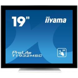 """19"""" iiyama T1932MSC-W5AG: IPS, SXGA, capacitive, 10P, 300cd/m2, VGA, HDMI, DP, bílý"""