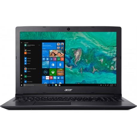 """Acer Aspire 3 - 15,6""""/i3-7020U/2*4G/512SSD/W10 černý"""
