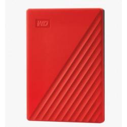 "Ext. HDD 2,5"" WD My Passport 2TB USB 3.0. červený"